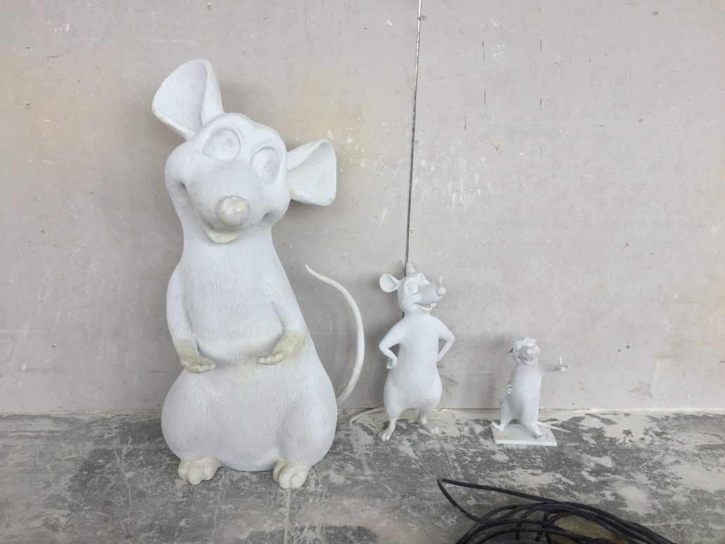 Fiberglass statue